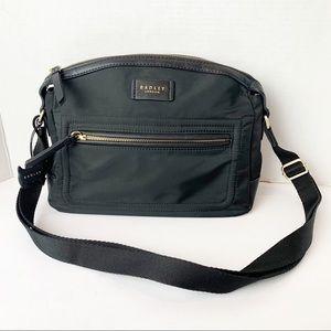 Radley London Black Nylon Crossbody Bag